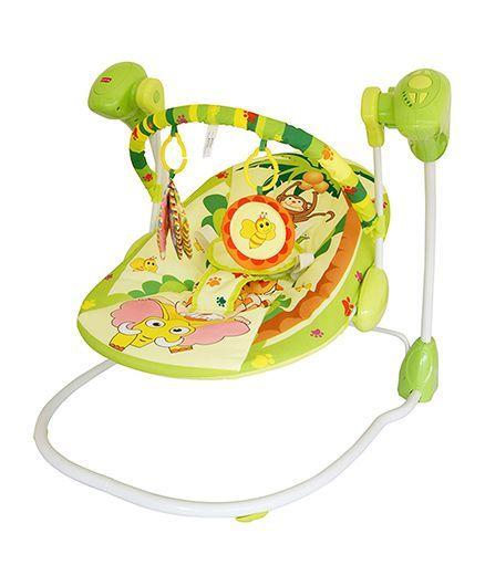 LuvLap Baby Swing Happy Forrest - 18166