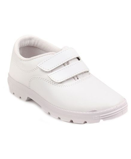 cf99d6ab40a4 Buy Prefect By Liberty School Shoes With Dual Velcro Closure White ...
