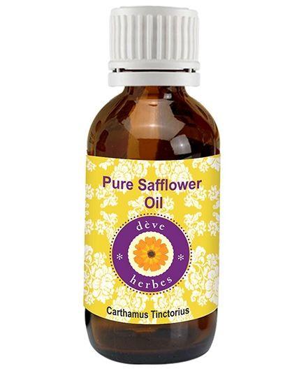 Deve Herbes Pure Safflower Oil - 100 ml