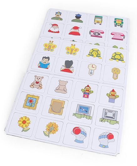 Funskool Memory Front and Back Game