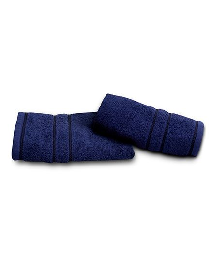 Sassoon Sandy Cotton Towel - Midnight Blue
