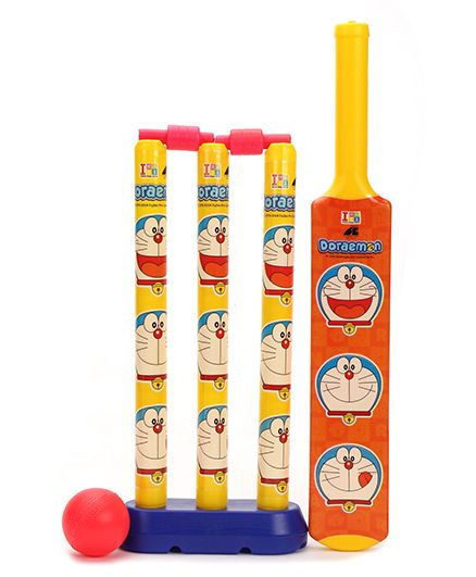 Doraemon My First Cricket Set Doraemon Theme (Color & Print May Vary)