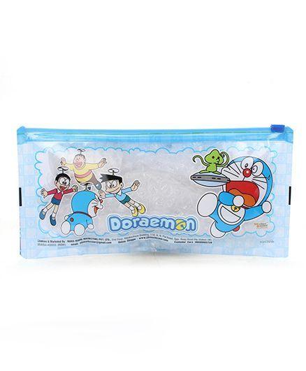 Doraemon Pencil Pouch - Blue