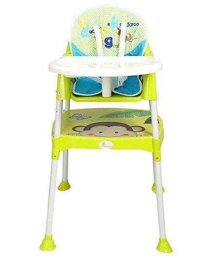R For Rabbit Cherry Berry The Convertible High Chair With Cushion Green Hccbbg1