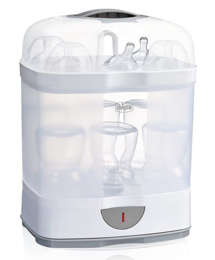 f3986fa07d5 Chicco 2 In 1 Steam Sterilizer White   Blue Online in India