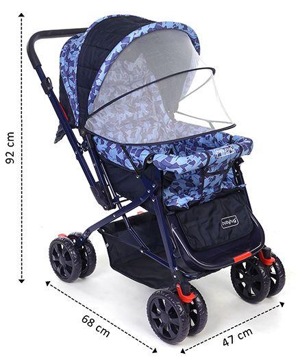 Walk Stroller (Blue)