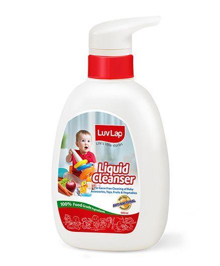 LuvLap Liquid Cleanser For Feeding Bottles 500 ml - 18179