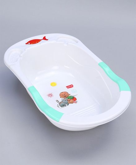 Luv Lap Baby Bath Tub Green 18189 Online in India, Buy at Best ...