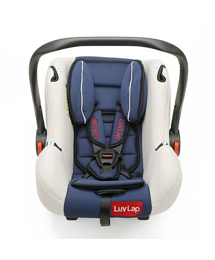 LuvLap Infant Baby Car Seat Cum Carry Cot With Rocker And Canopy ...