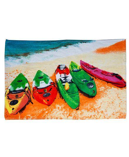 Sassoon Laika Printed Hand Towel - Multicolor