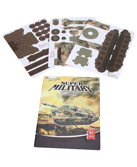 CubicFun Leopard 2A5 Tank Puzzle Set