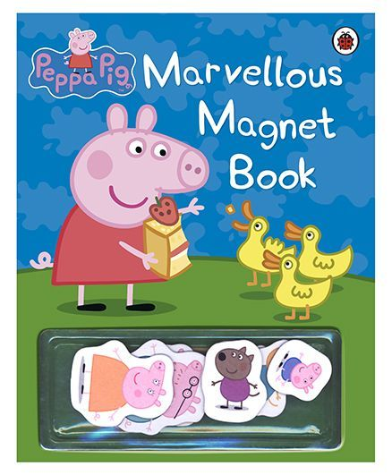 c821f49569b Peppa Pig Marvellous Magnet Book English Online in India