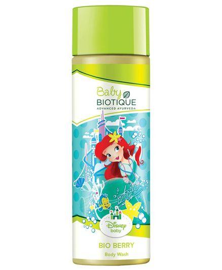 Biotique Disney Baby Girl Bio Berry Body Wash, 190 ML
