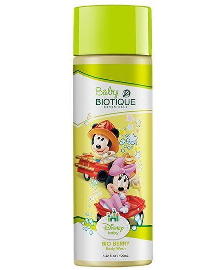 Biotique Disney Baby Boy Bio Berry Body Wash, 190 ML