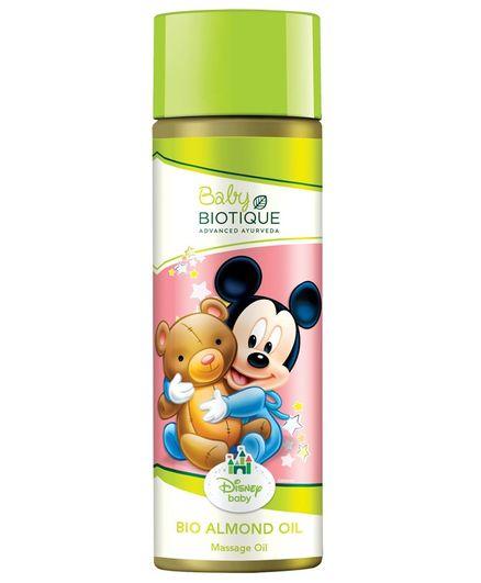 Baby Biotique Mickey Mouse Bio Almond Massage Oil - 200 ml