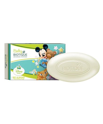 Baby Biotique Mickey & Minnie Bio Almond Nourishing Soap - 75 gm