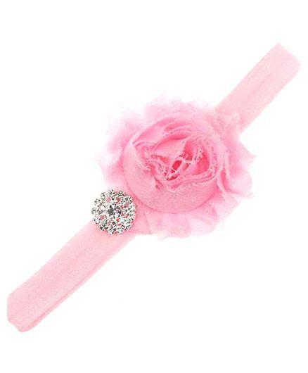 Bellazaara Trendy Headband For Little Girls - Light Pink