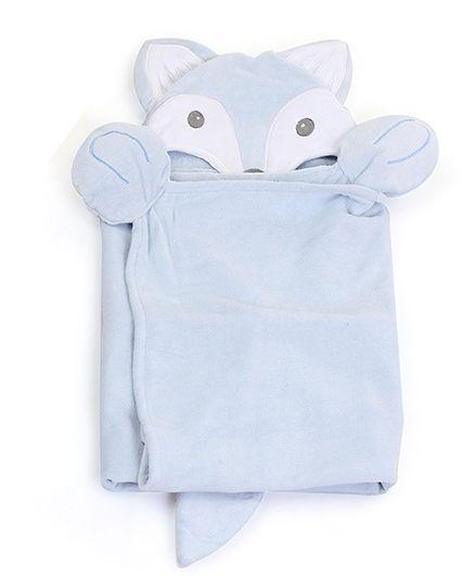 Piccolo Bambino Baby Bath Set Light Blue - 4 Pieces