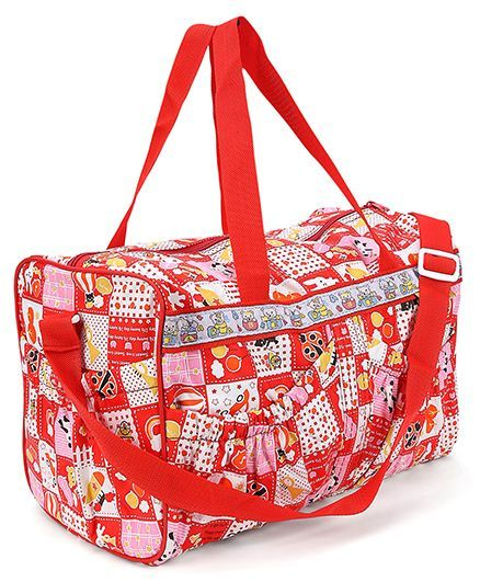 Mee Mee Mama's Bag Multi Print - Red