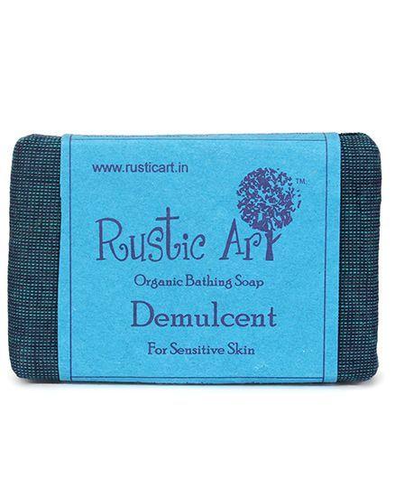 Rustic Art Organic Demulcent Soap - 100 gm