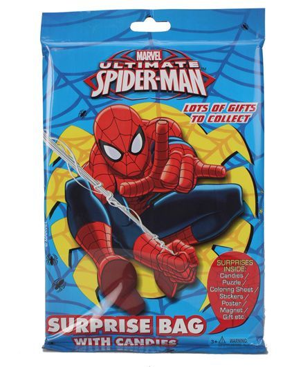 Marvel Ultimate Spider Man Surprise Bag