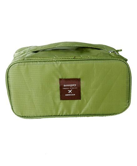 Home Union Travel Underwear Lingerie Organizer - Green