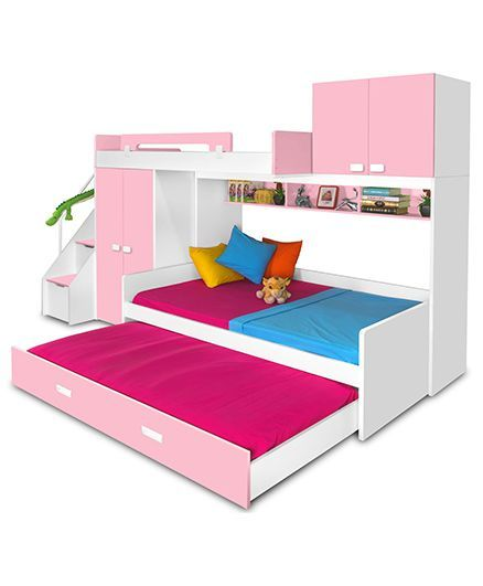 Alex Daisy Play Bunk Bed Pink Online In India Buy At Best Price