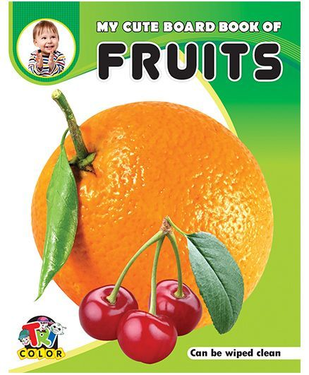 My Cute Board Book of Fruits - English
