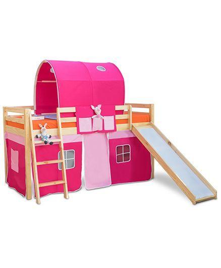 Alex Daisy Montana Loft Bed - Pink