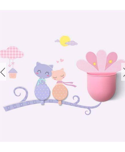 EZ Life Diy Cup & Hook Set Pretty Cat - Multicolour