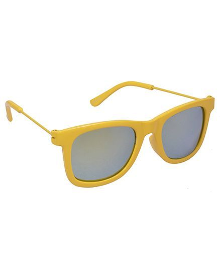 Spiky Wayferer Sunglasses With Case - Yellow and Red