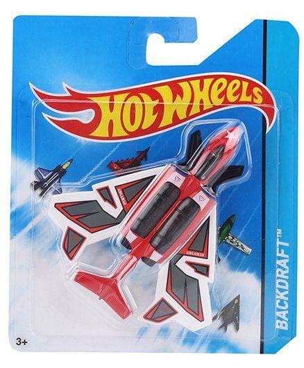 Hot Wheels Plane Backdraft - Red