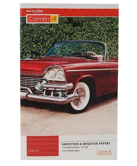 Camlin Single Line Notebook - 172 Pages