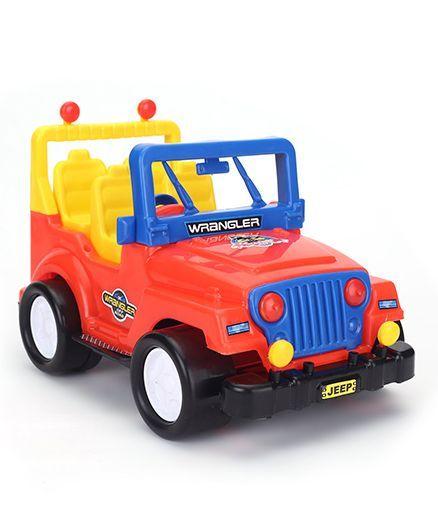 Kids Zone Wrangler Jeep Toy - Red