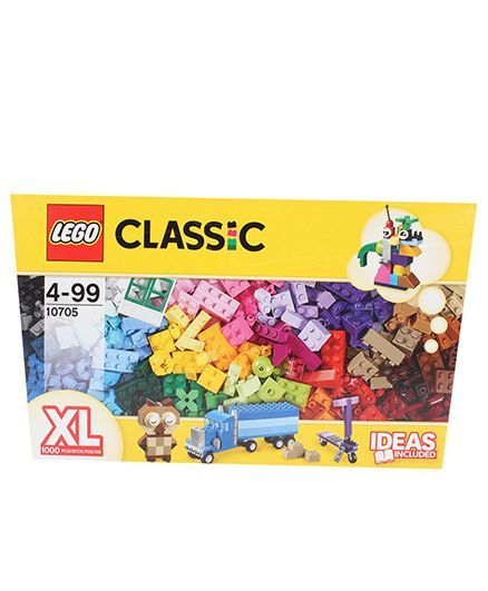 Lego Classic Creative Building Basket Set Multicolor 1000 Pieces ...