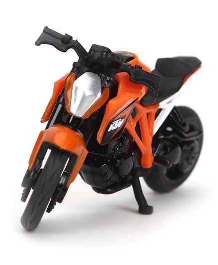 Siku Funskool Die Cast Ktm 1290 Toy Bike Orange Black For 3 8 Years
