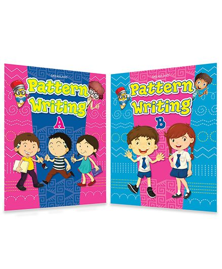 Pattern Writing Books pack of 2