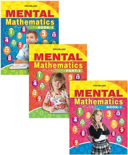 Mental Mathematics set of 3