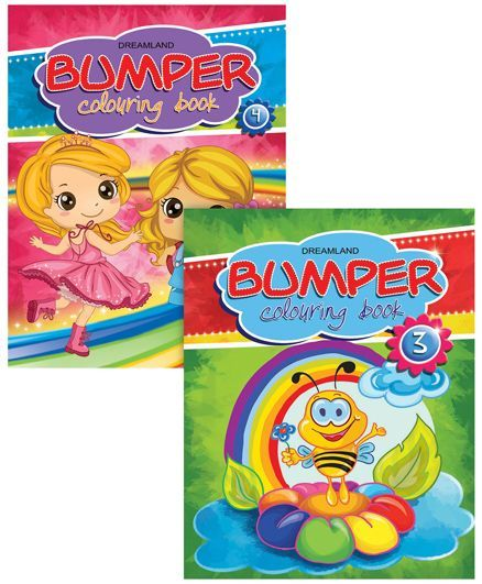 Bumper Colouring Books set of 2
