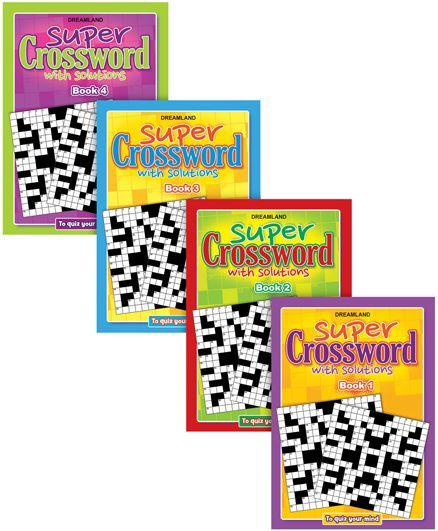 Super Cross Word pack of 4