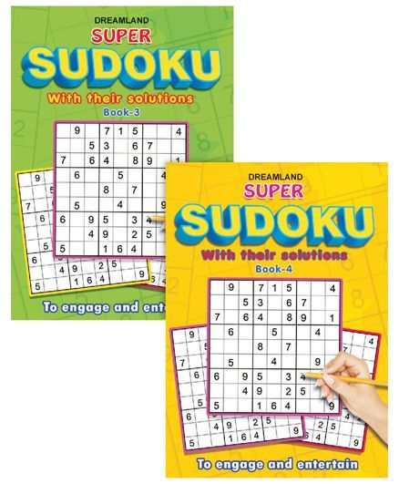 Super Sudoku pack of 2