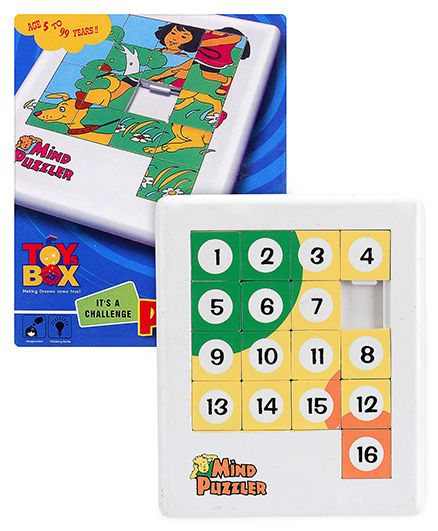 Toysbox - Number Mind Puzzlers and  Toysbox - Mind Puzzle Set 1