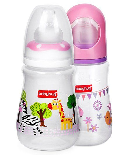 Babyhug Drop Feeding Bottle & Bubble feeding Bottle Set