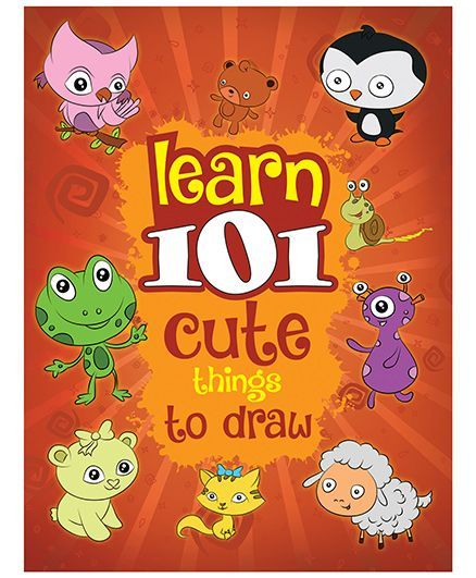 Young Angels Learn 101 Cute Things To Draw English Online In India