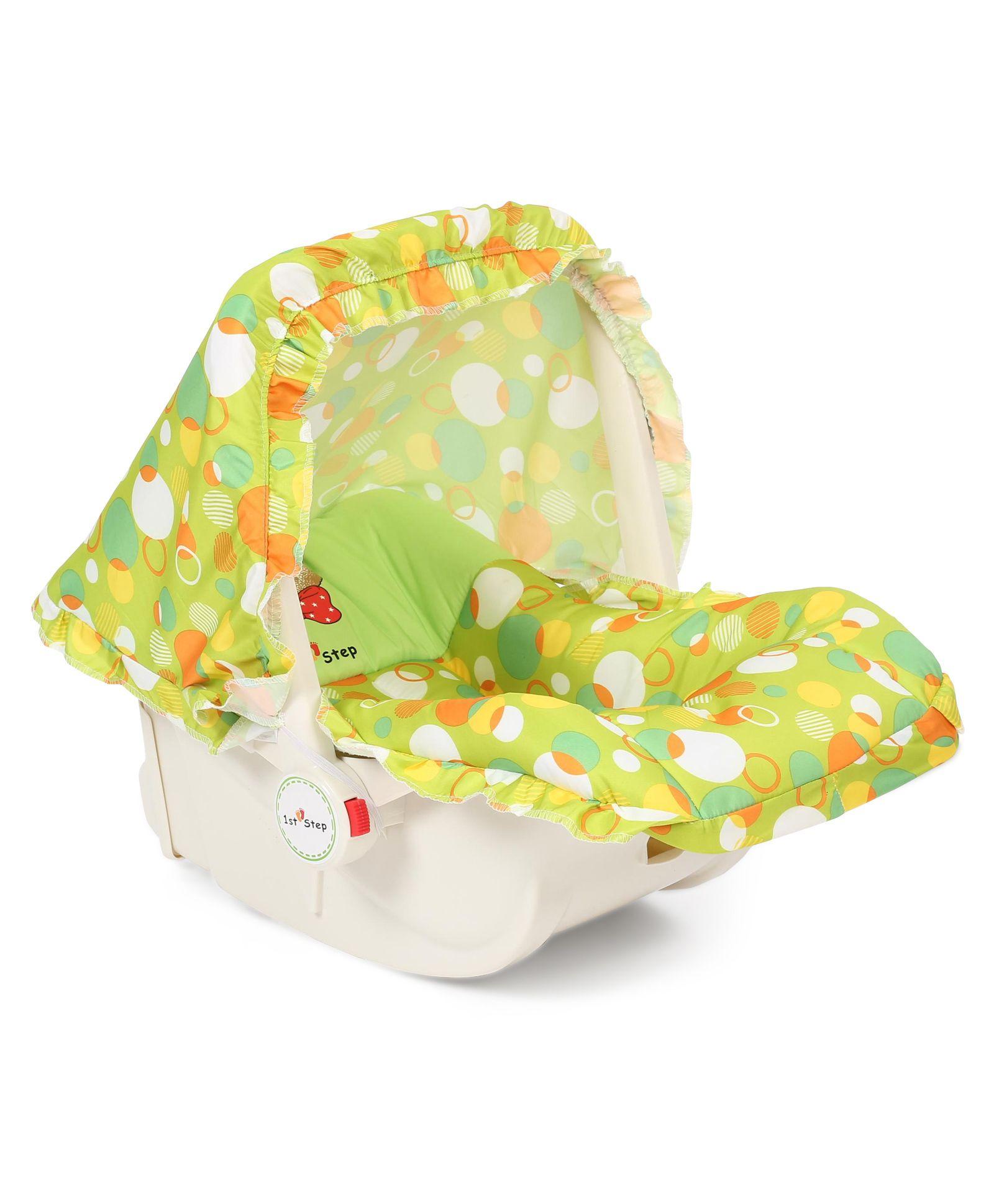 1st Step Baby Carry Cot Cum Rocker - Green