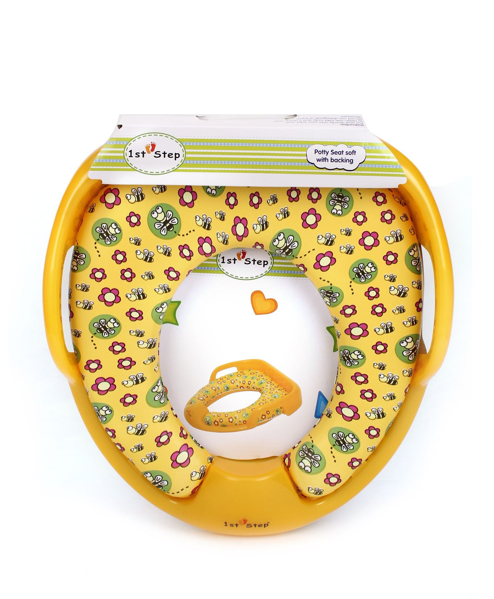 1st Step Potty Seat With Grip - Yellow