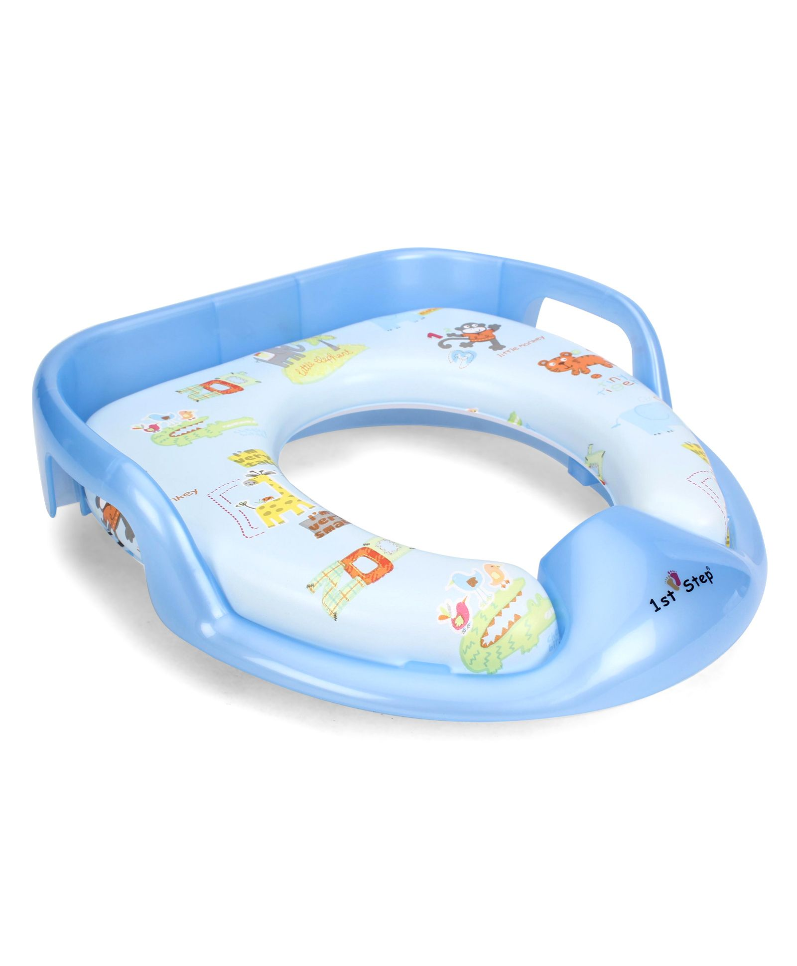 1st Step Potty Seat With Grip - Blue
