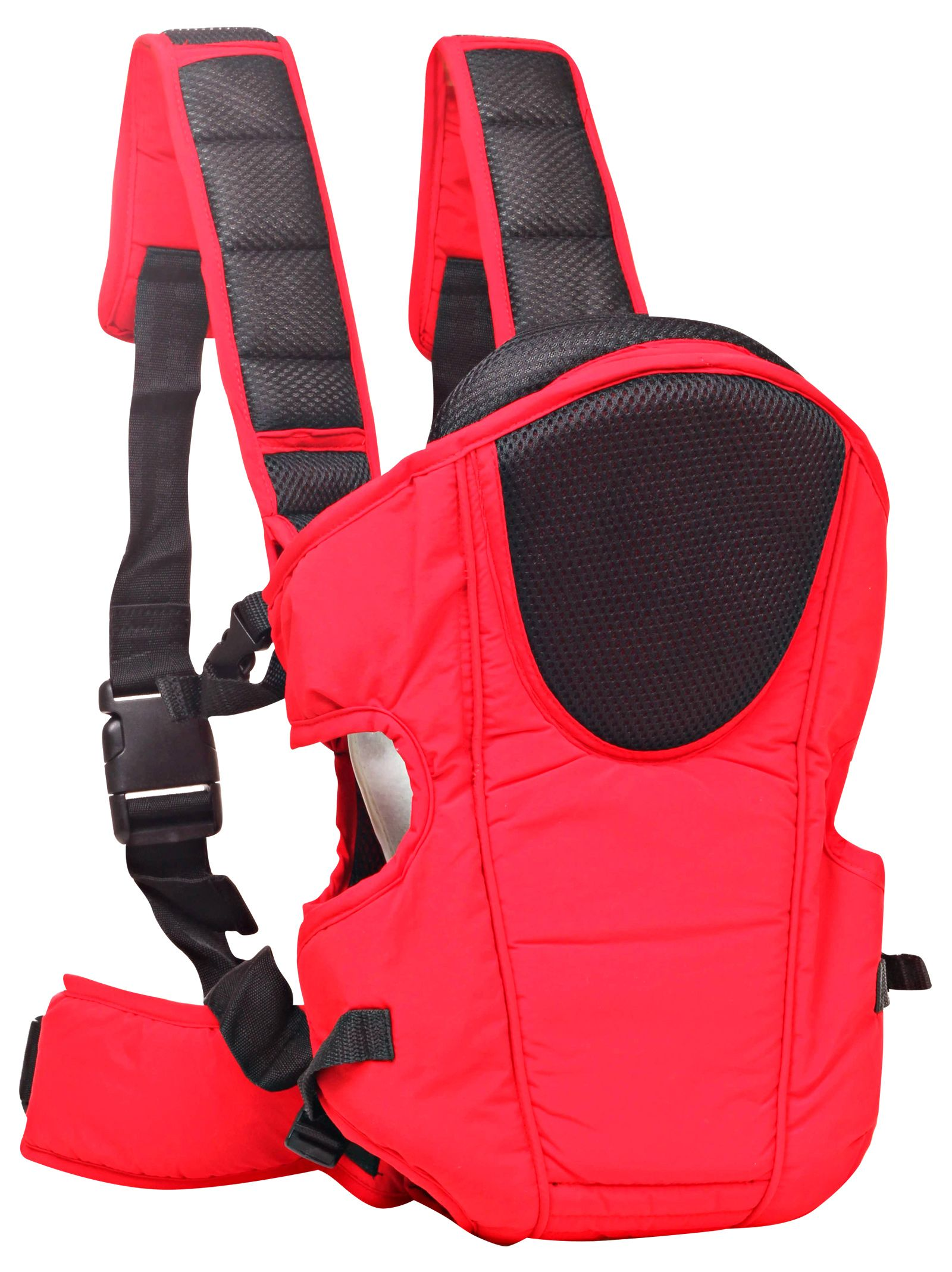 3 Way Baby Carrier With Padded Straps - Red