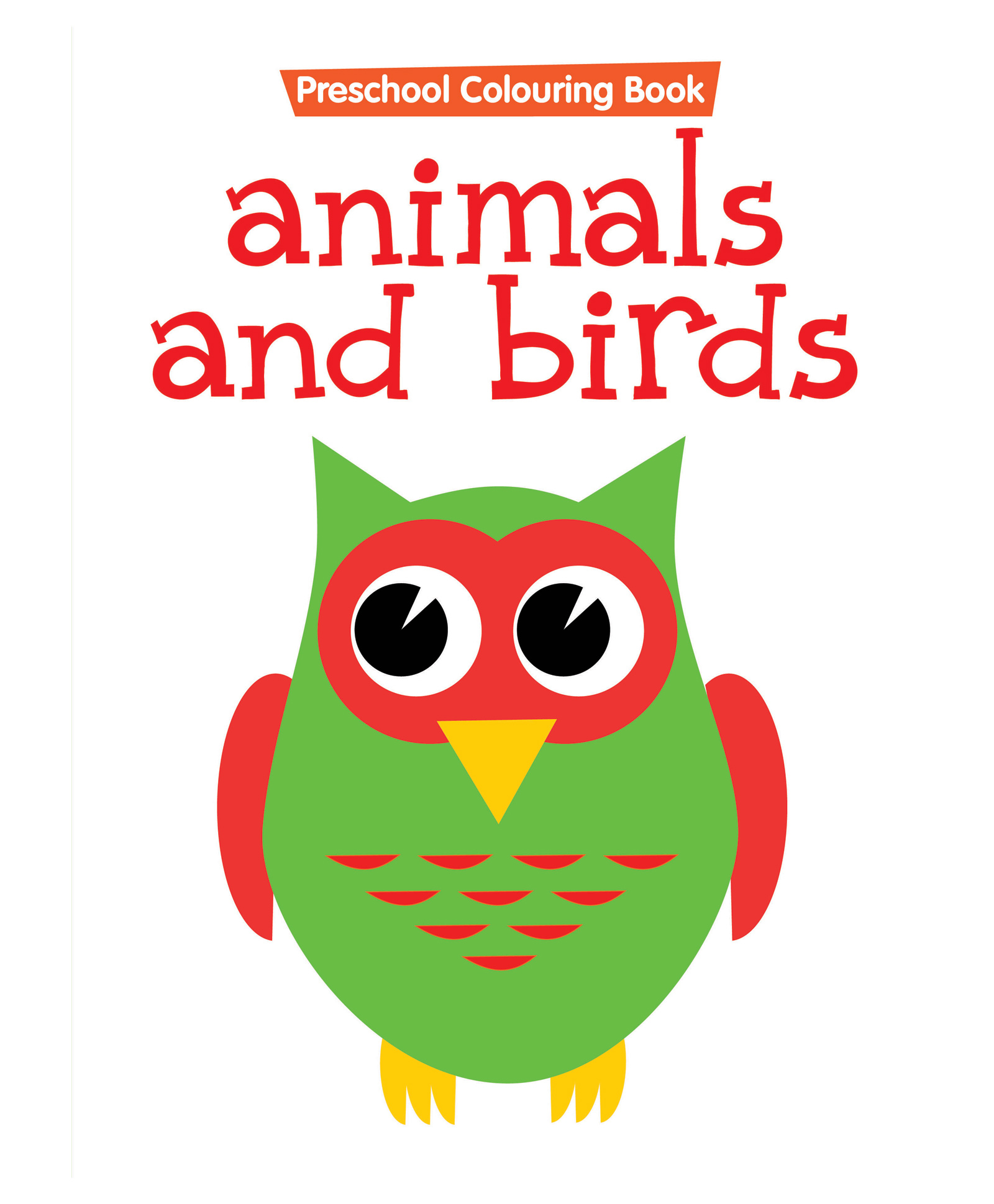 Preschool Coloring Book Animals And Birds English Online in India ...