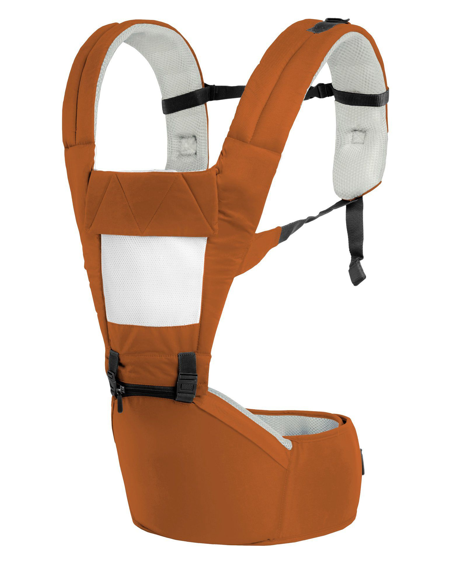 R for Rabbit Upsy Daisy Smart Hip Seat Baby Carrier - Brown Cream